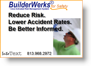 Visual illustration of how BuilderWerks can be used by OSHA Safety Officers.  There is no sound